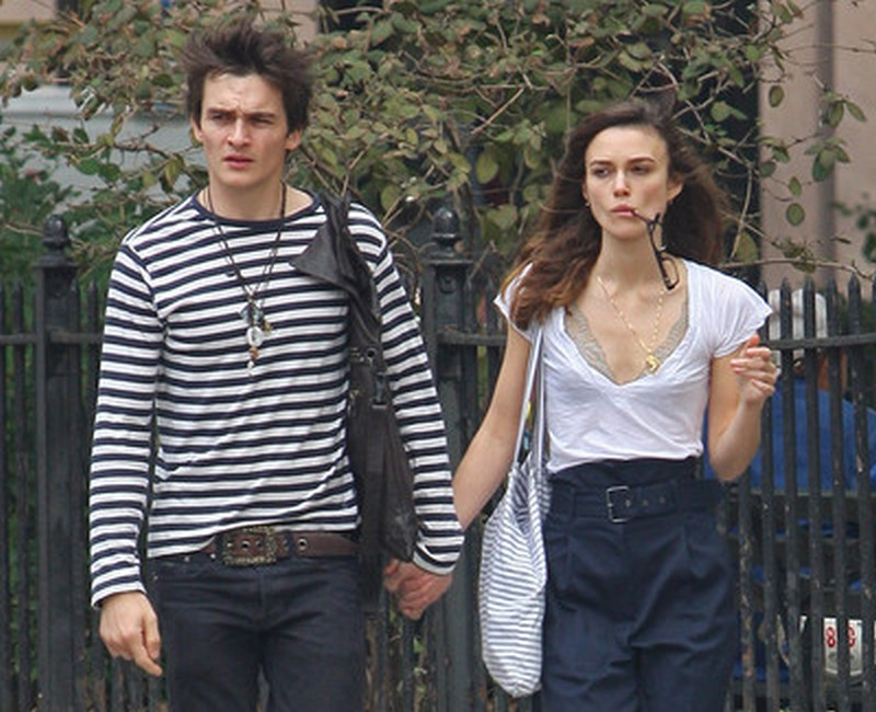 Rupert Friend ex-girlfriend Keira Knightley