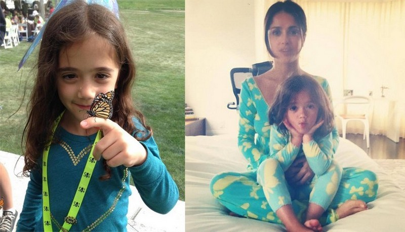 Salma Hayek children - daughter Valentina Paloma Pinault