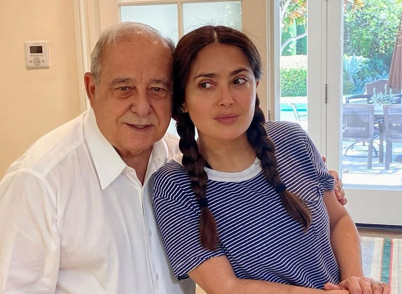 Salma Hayek family - father Sami Hayek Dominguez