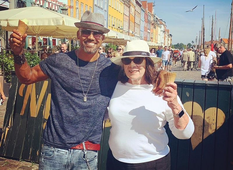 Shemar Moore family - mother Marilyn Moore-Wilson