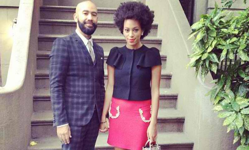 Solange family - ex-husband Alan Ferguson