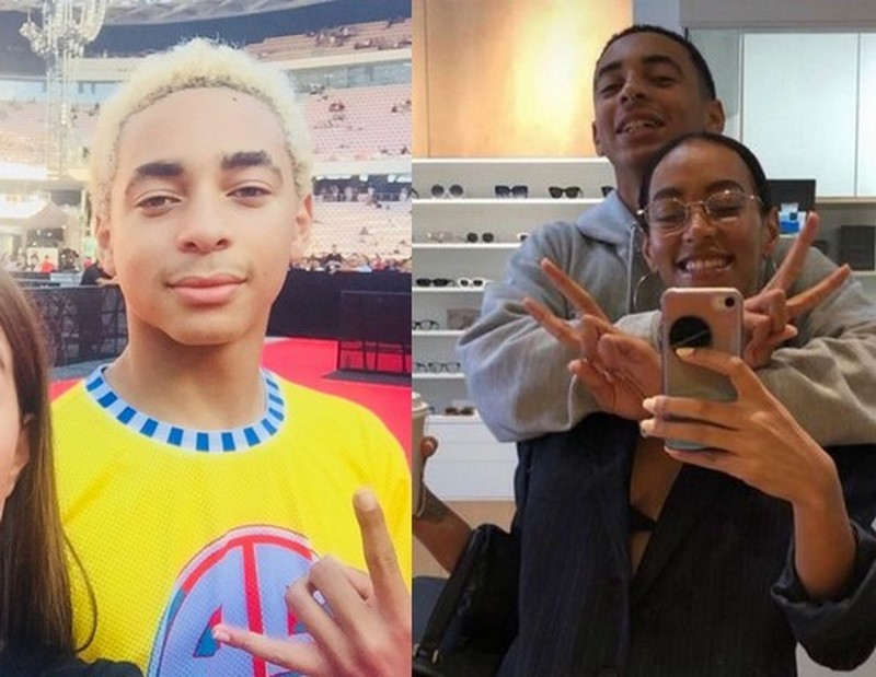 Solange children - son Daniel Julez J. Smith Jr.