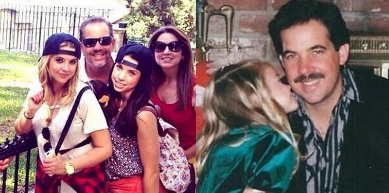 Ashley Benson family - father Jeff Benson