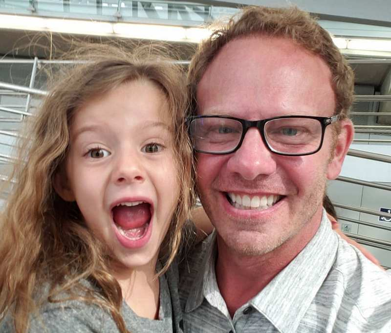 Ian Ziering children - daughter Penna Mae Ziering