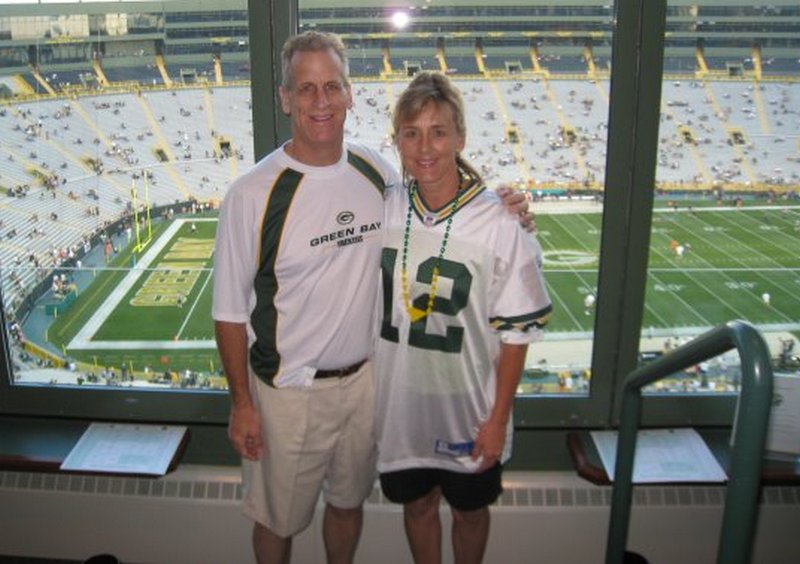 Aaron Rodgers family - mother Darla Pittman Rodgers