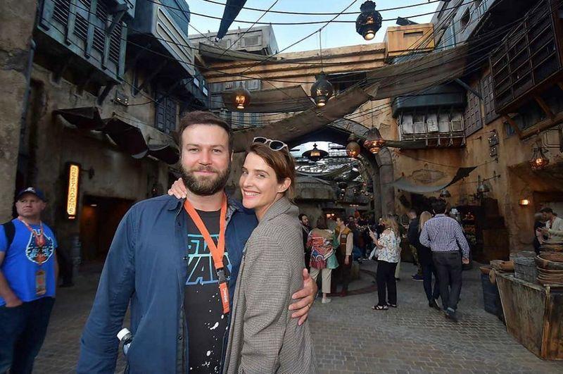 Cobie Smulders family - husband Taran Killam