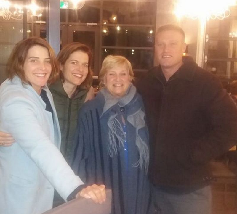 Cobie Smulders family - mother