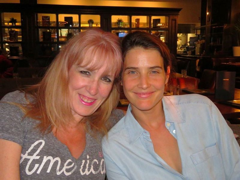 Cobie Smulders siblings - sister Melissa Nisbet
