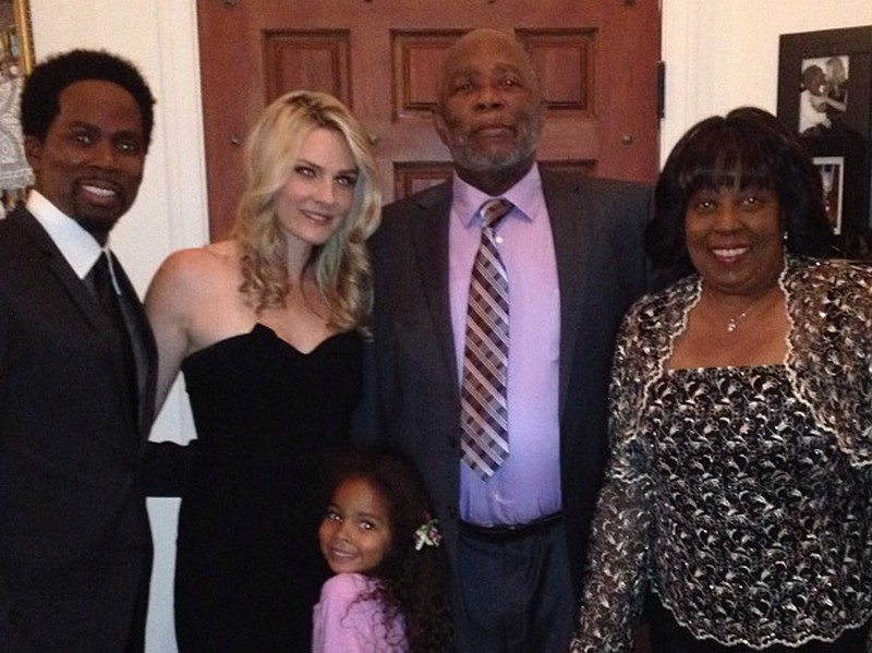 Harold Perrineau family - father Harold Williams Sr.