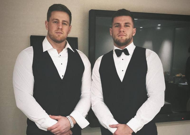 J.J. Watt siblings - brother T. J. Watt