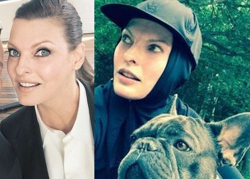 Kyle MacLachlan ex-girlfriend Linda Evangelista
