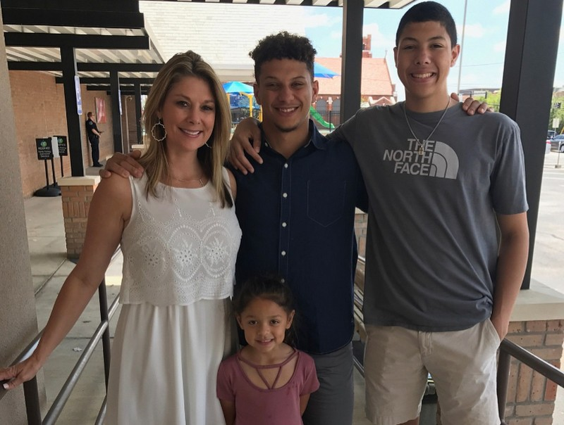 Patrick Mahomes family - mother Randi Mahomes