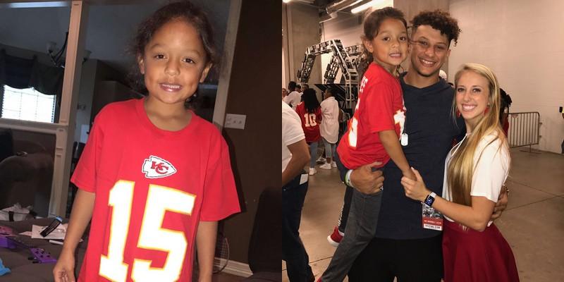 Patrick Mahomes siblings - half-sister Mia Randall