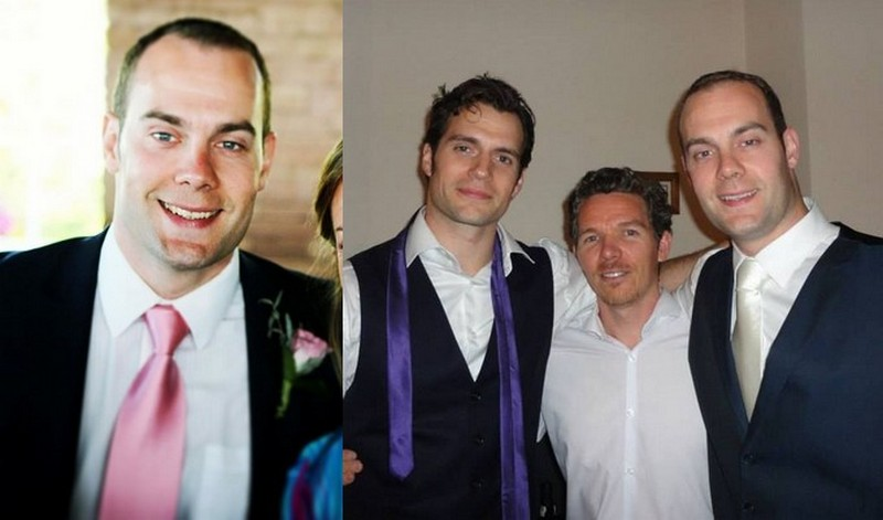 Henry Cavill siblings - brother Simon Cavill