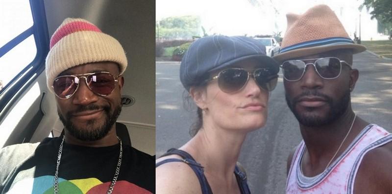 Idina Menzel family - ex-husband Taye Diggs