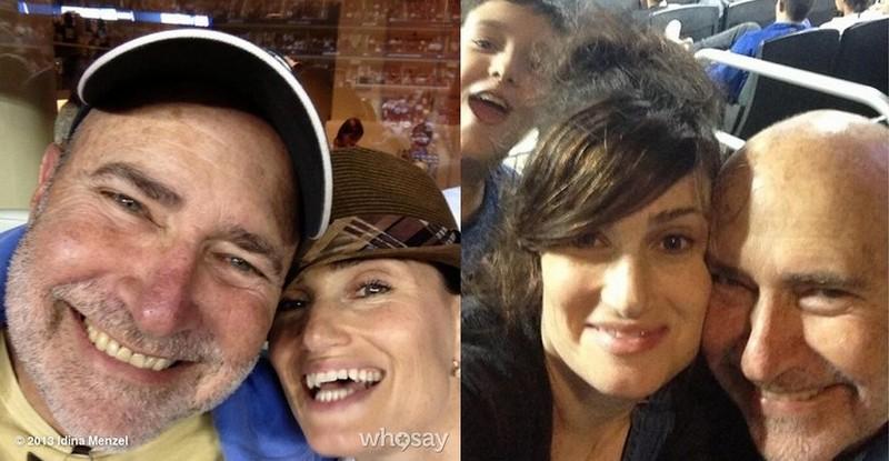 Idina Menzel family - father Stuart Mentzel
