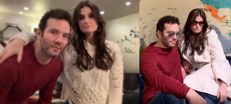 Idina Menzel family - husband Aaron Lohr