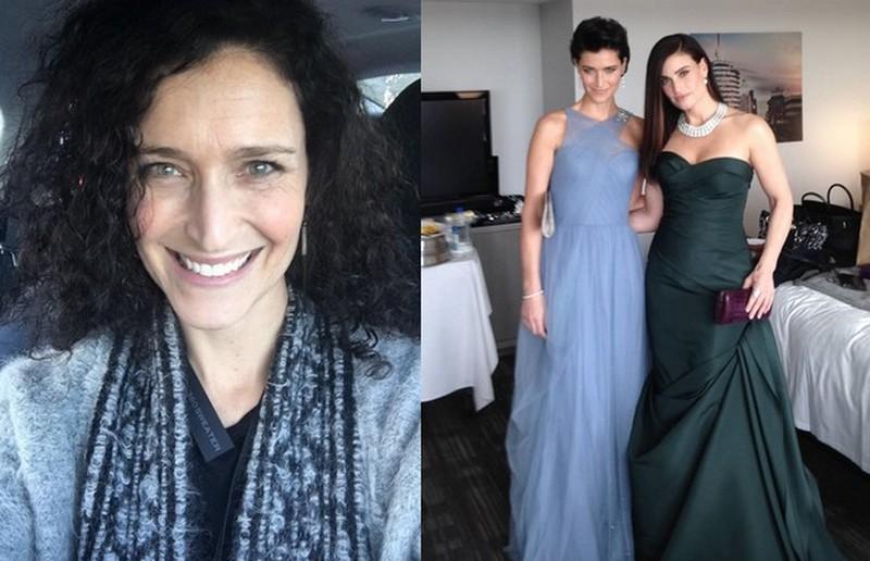 Idina Menzel siblings - sister Cara Mentzel