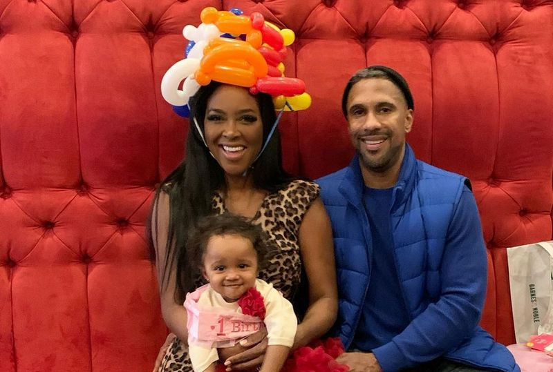 Kenya Moore family - husband Marc Daly