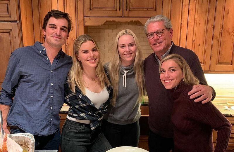 Lindsey Vonn family - father Alan Kildow