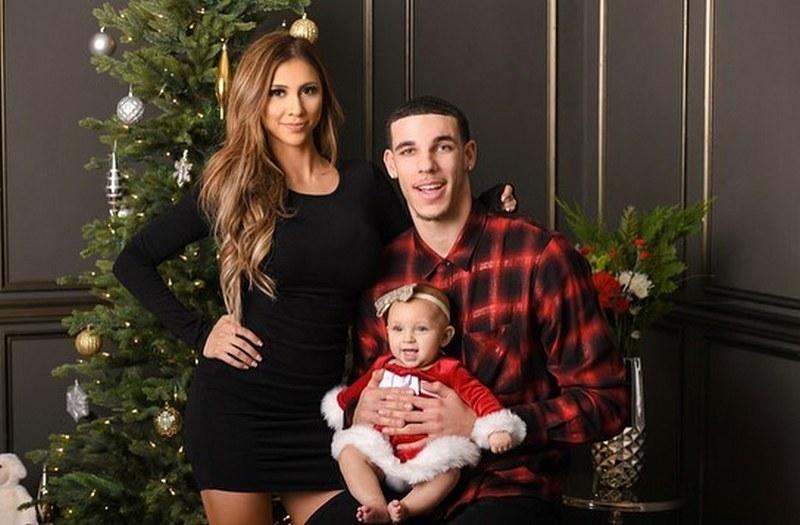 Lonzo Ball family - ex-girlfriend Denise Garcia