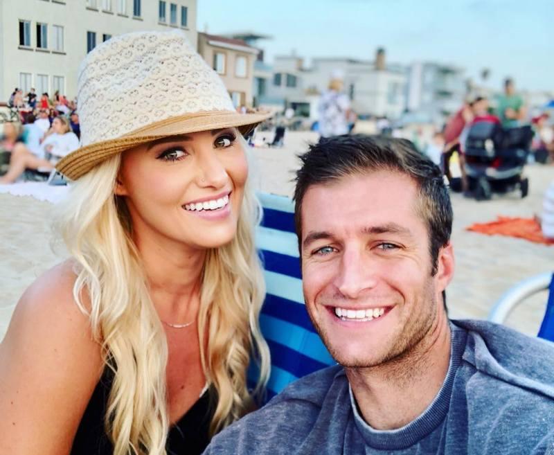Tomi Lahren family - husband Brandon Fricke