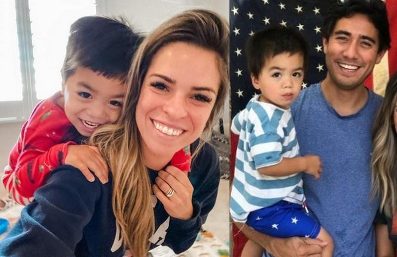 Zach King children - adopted son Mason King