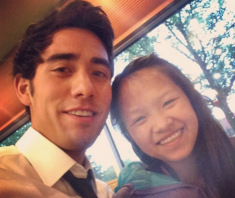 Zach King siblings - adopted sister Katie King
