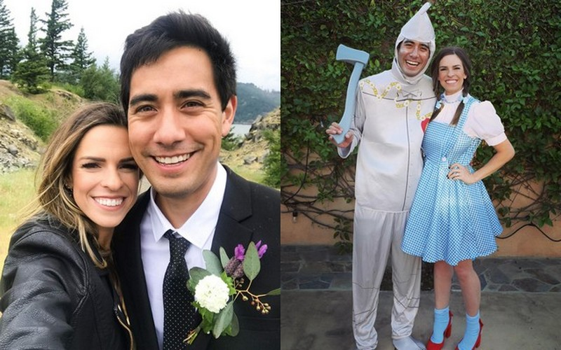 Zach King family - wife Rachel King