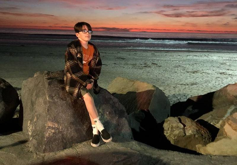 Holly Combs children - son Riley Edward Donoho