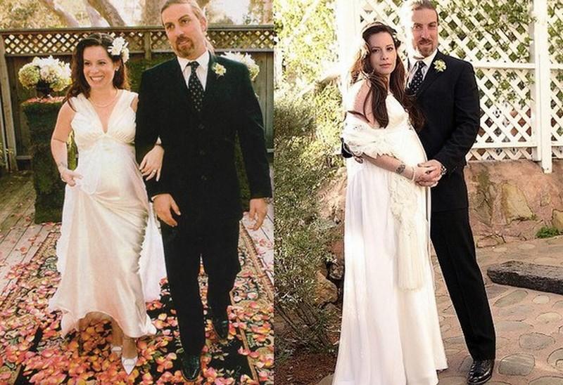 Holly Combs family - ex-husband David W. Donoho