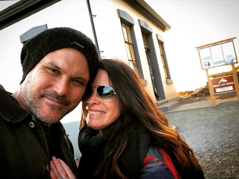 Holly Combs family - husband Mike Ryan