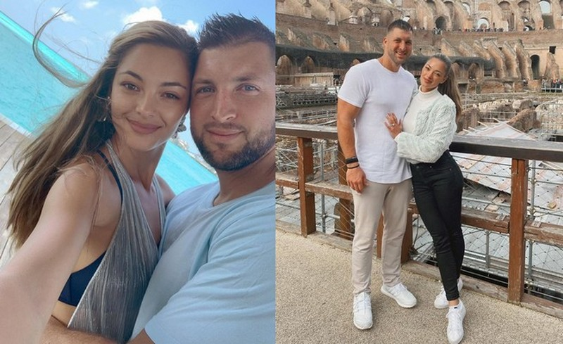 Tim Tebow family - wife Demi-Leigh Tebow