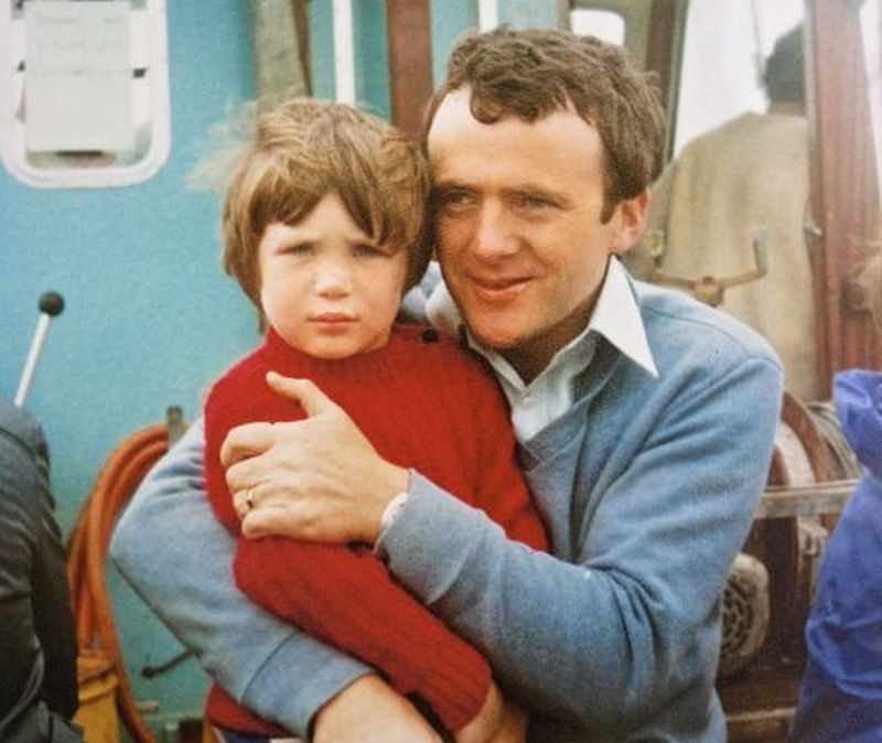 Cillian Murphy family - father Brendan Murphy