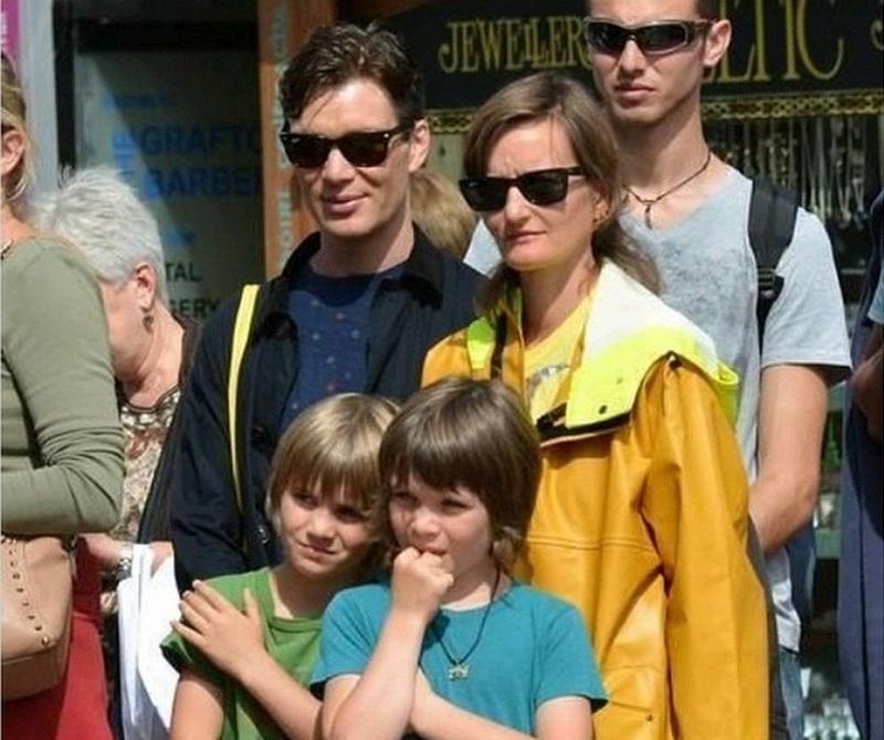 Cillian Murphy family - children