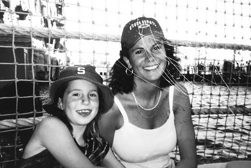 Daniel Tosh siblings - sister Melinda Tosh