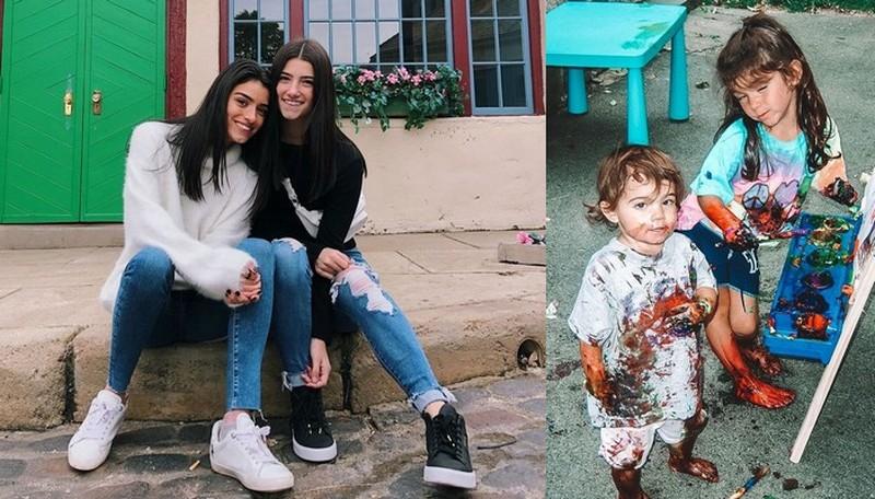 Dixie D'Amelio siblings - sister Charli D'Amelio