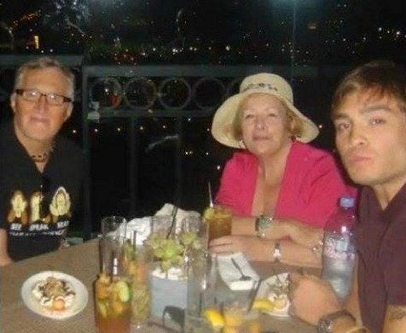 Ed Westwick family - father Peter Westwick