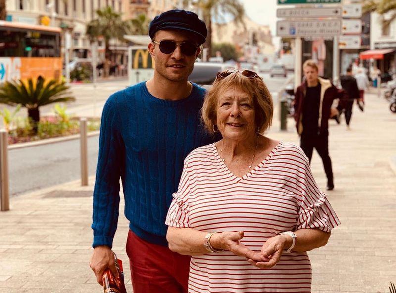 Ed Westwick family - mother Carole Westwick