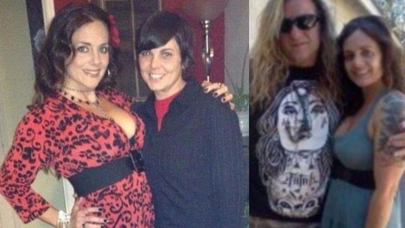 Jessica Chastain siblings - half-sister Nicole Monasterio