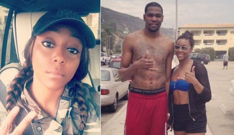 Kevin Durant ex-girlfriend Monica Wright
