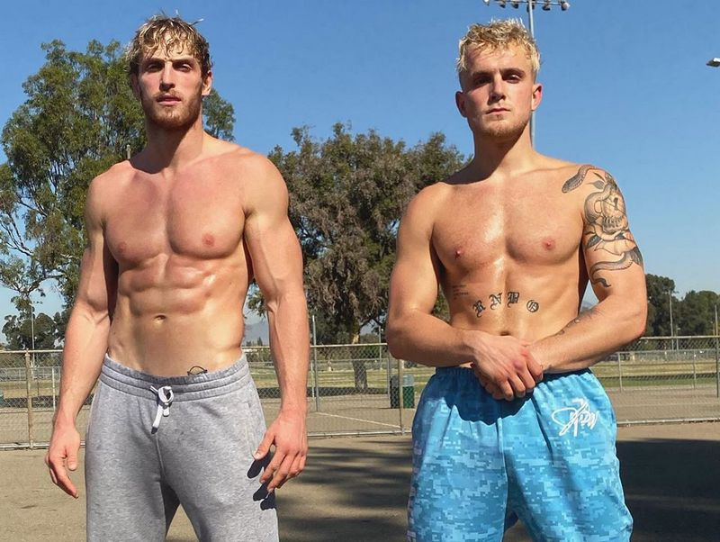 Logan Paul siblings - brother Jake Paul