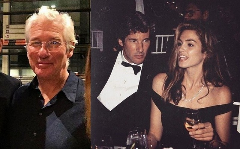 Cindy Crawford family - ex-husband Richard Gere