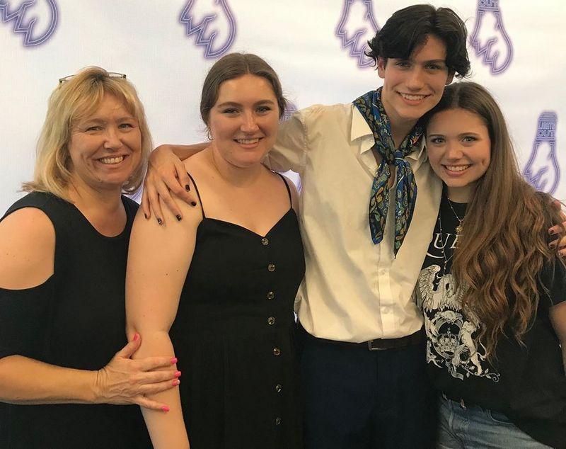 Chase Hudson family