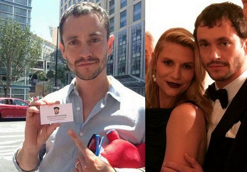 Claire Danes family - husband Hugh Dancy