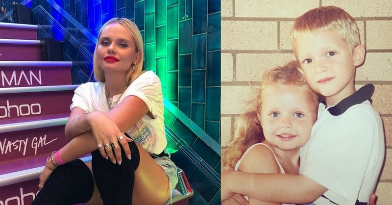 Cody Simpson siblings - sister Alli Simpson