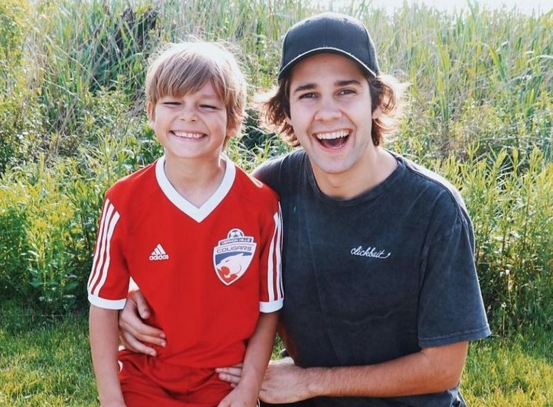 David Dobrik siblings - brother Toby Dobrik