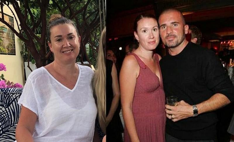 Dominic Purcell family - ex-wife Rebecca Williamson