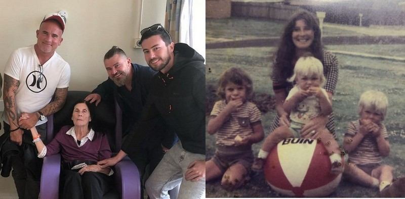 Dominic Purcell family - mother Maureen Eilish Purcell