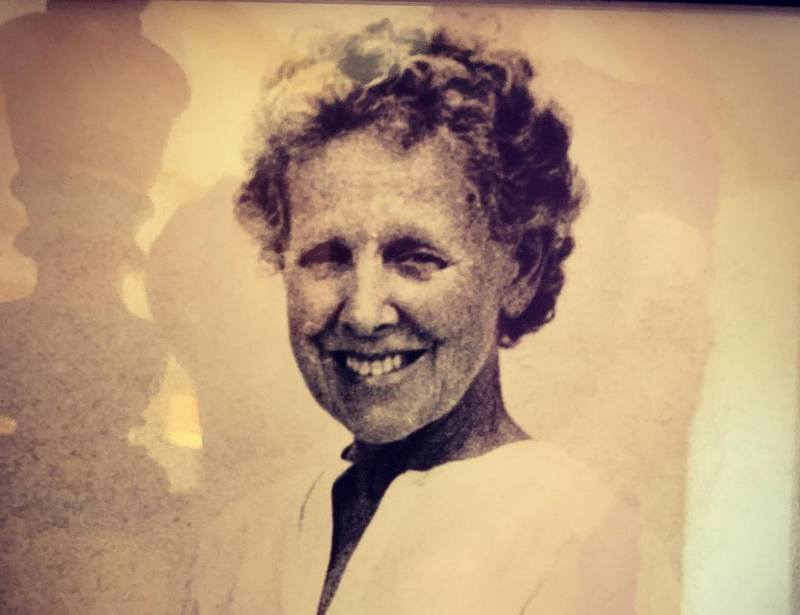 Kevin Bacon family - mother Ruth Hilda Holmes
